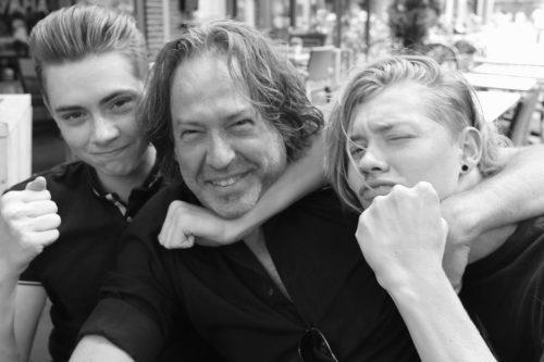 John + kids